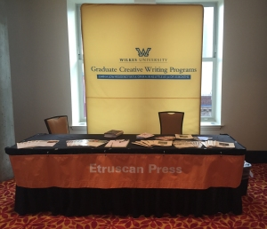 Wilkes/Etruscan Booth at HippoCamp15