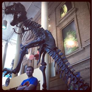 T. rex DMNS