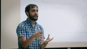 Sam Chiarelli at Pennsylvania Writers Conference
